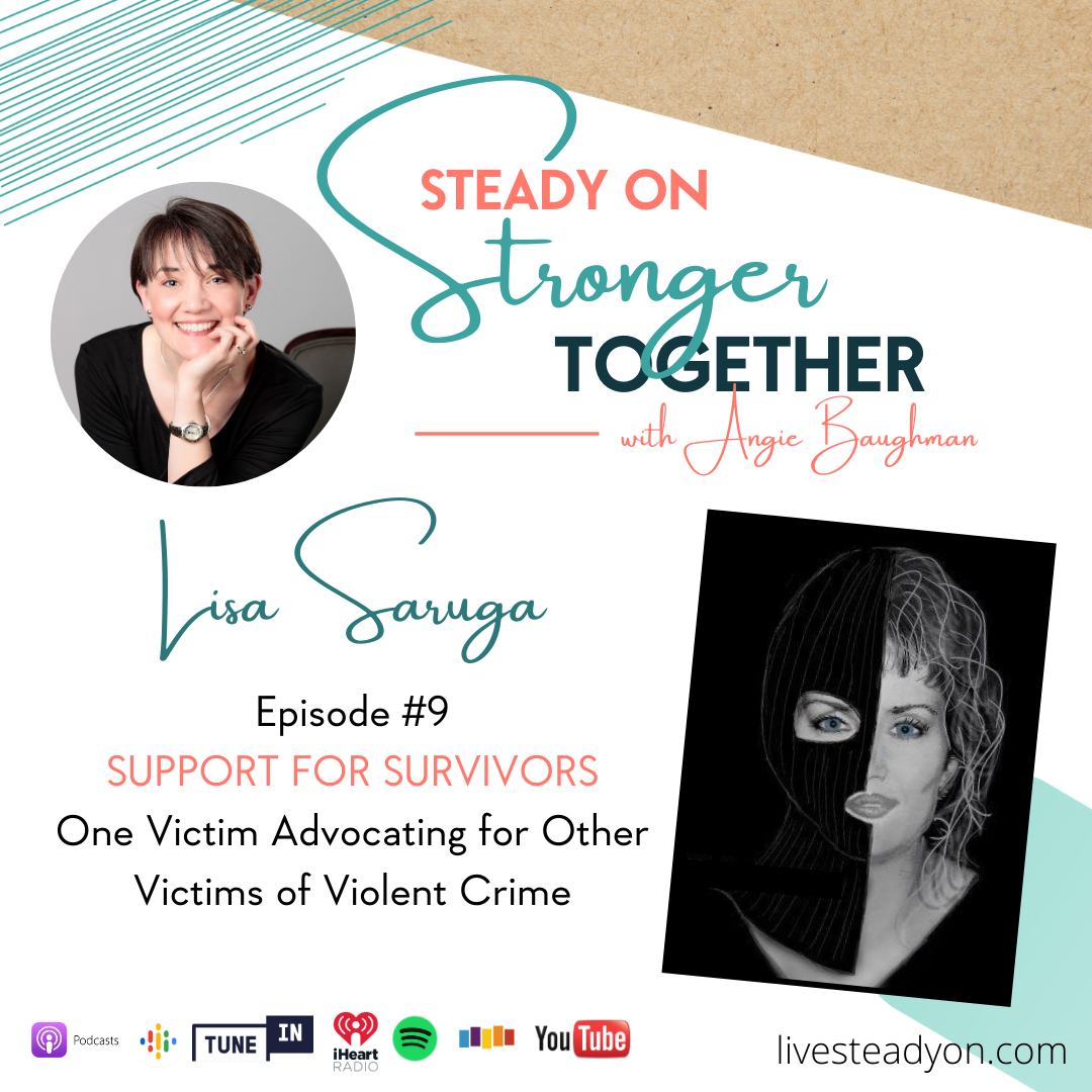 Episode 9: Support for Survivors with Lisa Saruga