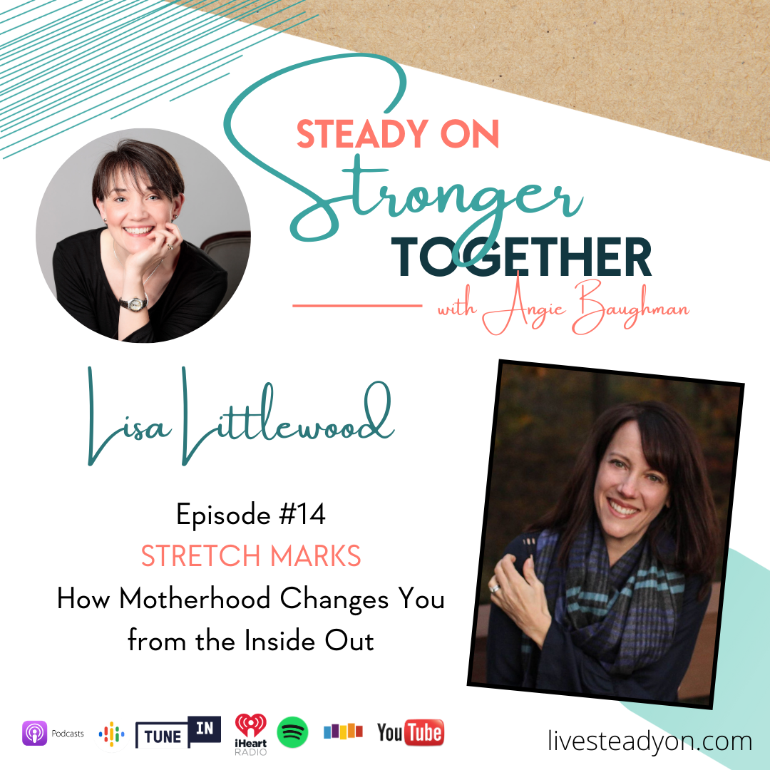 Episode 14: Stretch Marks with Lisa Littlewood