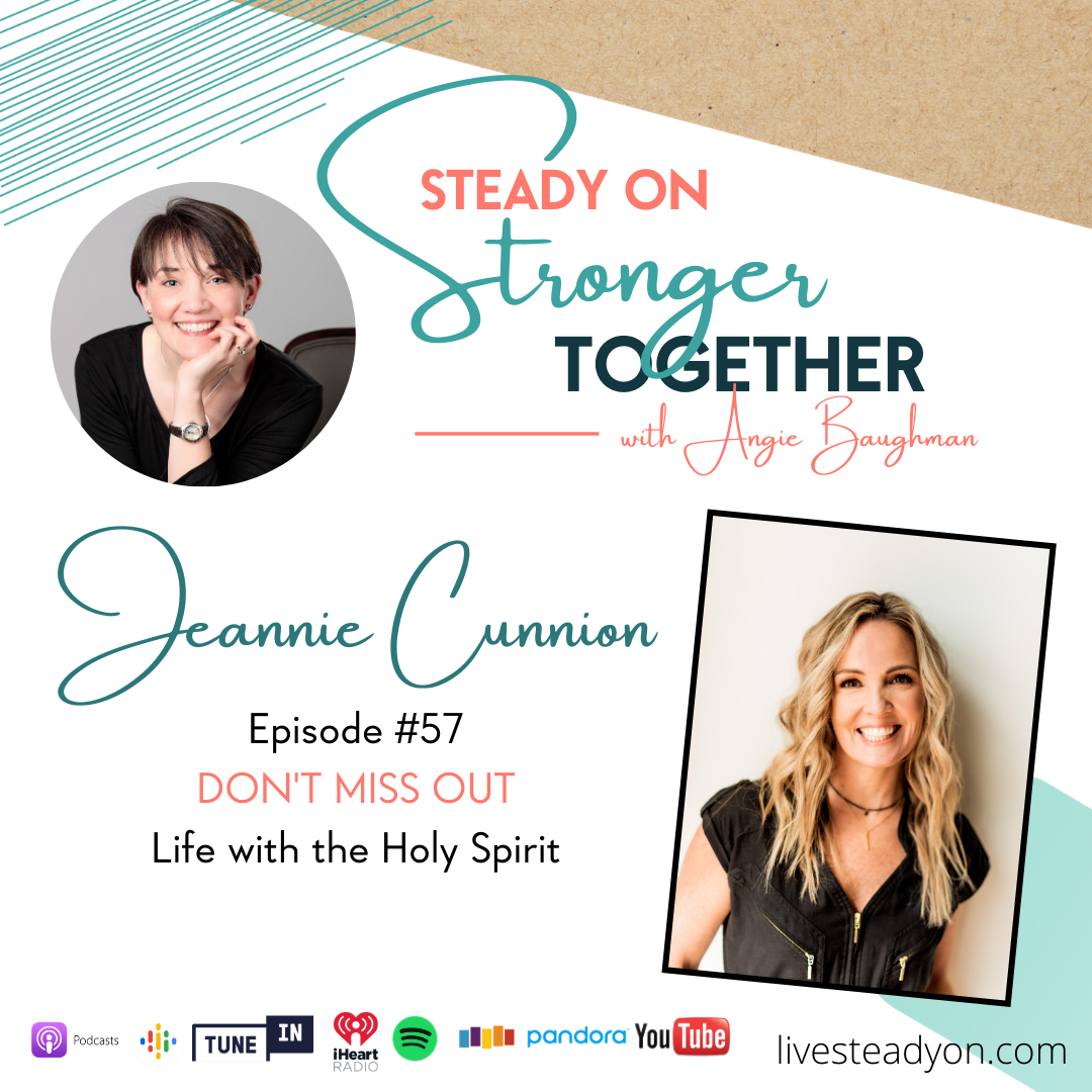 Episode 57: Don't Miss Out with Jeannie Cunnion