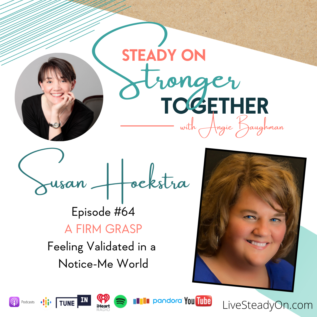 Episode 64: A Firm Grasp with Susan Hoekstra