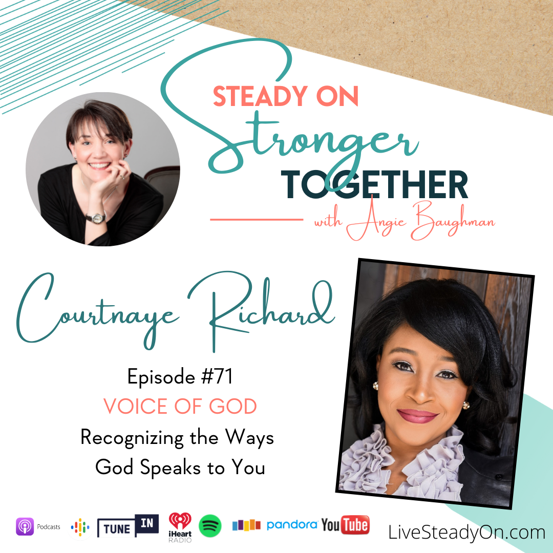Episode 71: Voice of God with Courtnaye Richard